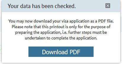 ドイツワーキングホリデービザのWeb 版申請書フォ-ムの書き方