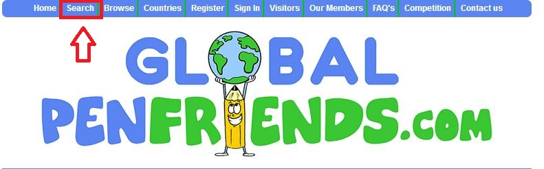 Global Penfriends.comの登録方法
