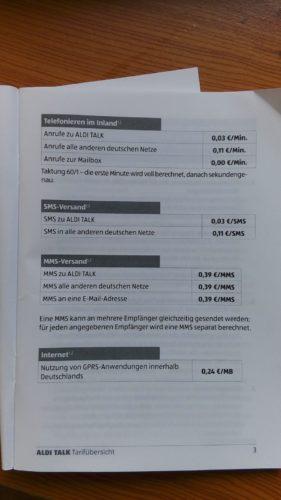 ドイツのスーパーでプリペイドSIMカードを買ってアクティベートしてみる