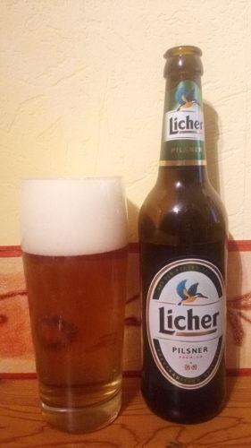 Licher PILSNER ドイツのピルスナー