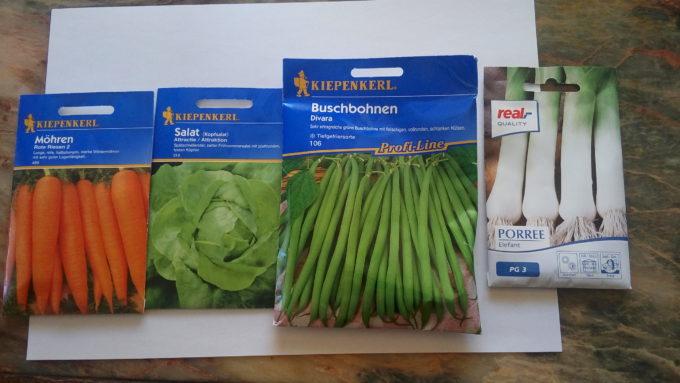 ドイツで野菜作り